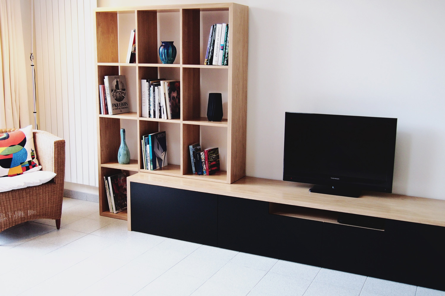 meuble tv biblioth que brotherwood. Black Bedroom Furniture Sets. Home Design Ideas